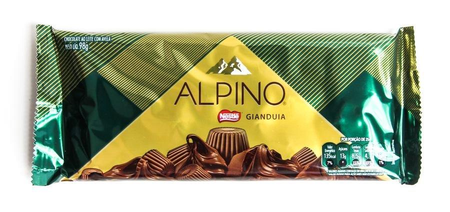 Embalagem Alpino Nestlé Gianduia