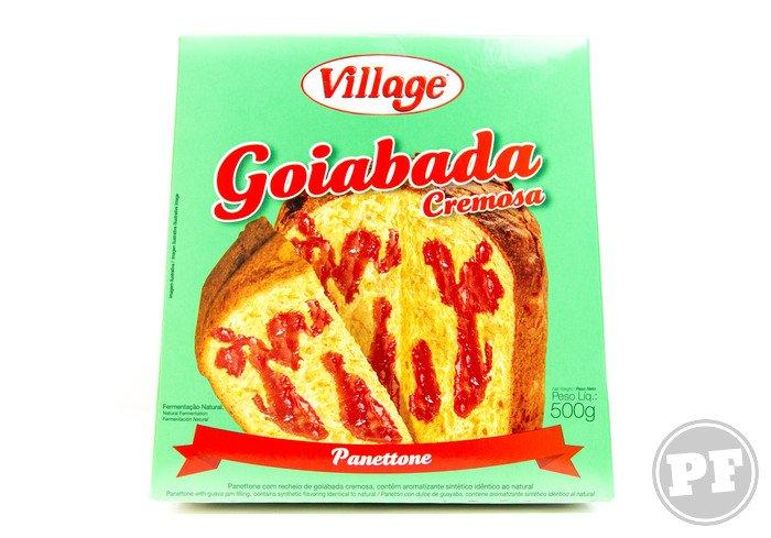 Panetone Goiabada Cremosa da Village por PratoFundo.com