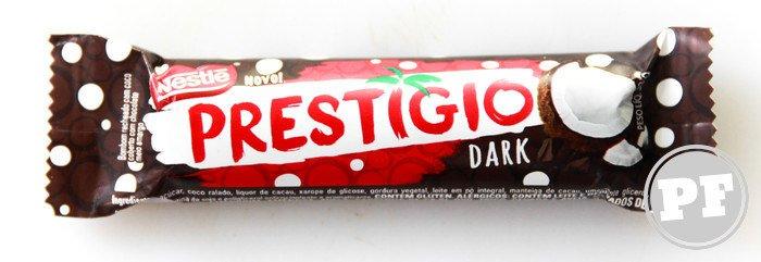 Prestígio Dark da Nestlé por PratoFundo.com