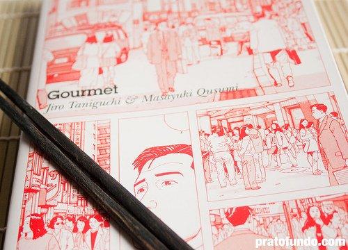 """Resenha: """"Gourmet"""" de Jiro Taniguchi e Masayuki Kusumi"""