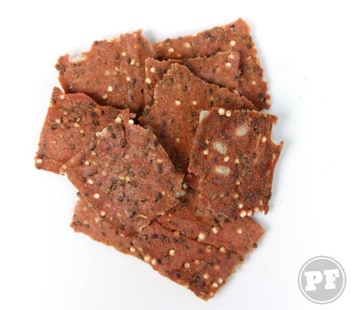 Biscoito de Beterraba Assado por PratoFundo.com