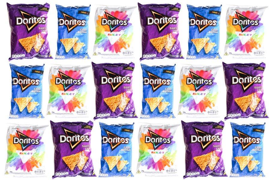 Embalagem de Doritos