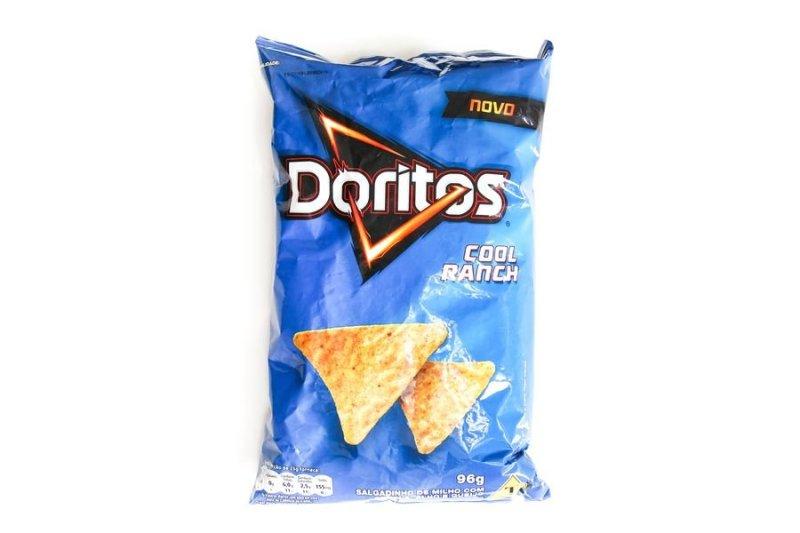 Embalagem do Doritos Cool Ranch