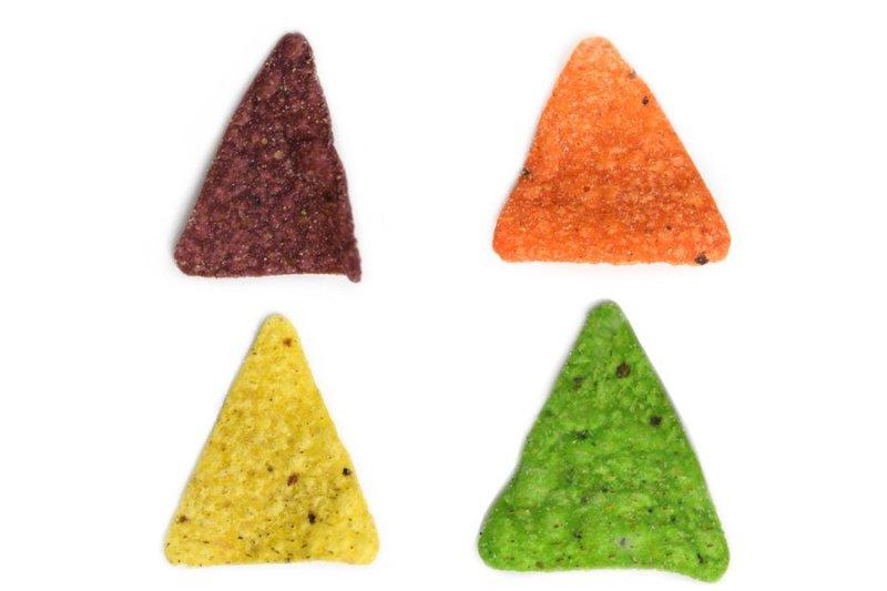 Doritos Rainbow: todas as cores do pacote