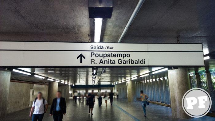 Rua Silveira Martins - Sentido da saída