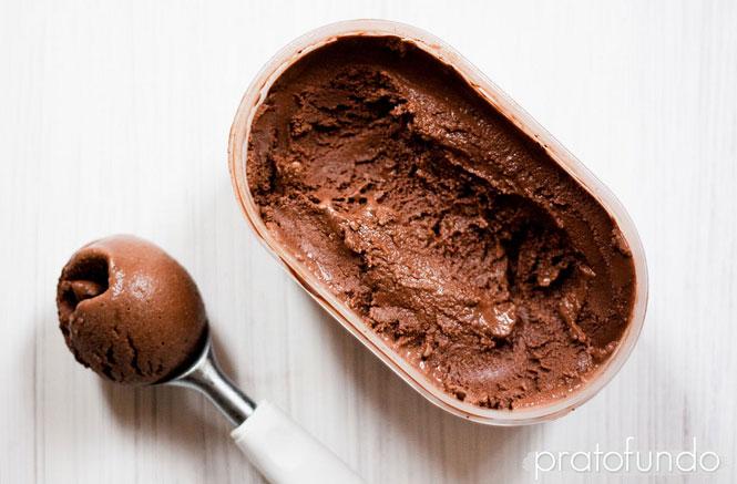 Sherbet de Chocolate