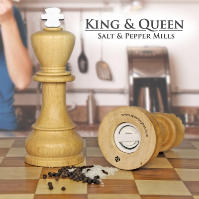 Moedores Rei e Rainha