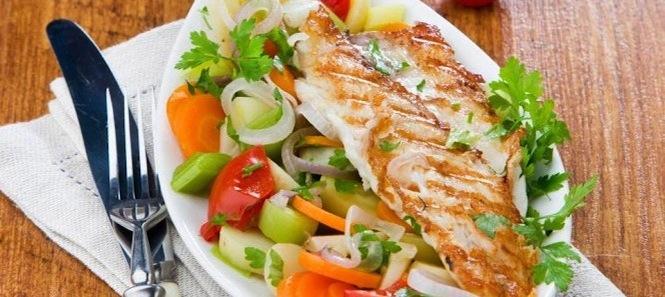 Portal Super Culinária - Truta Grelhada