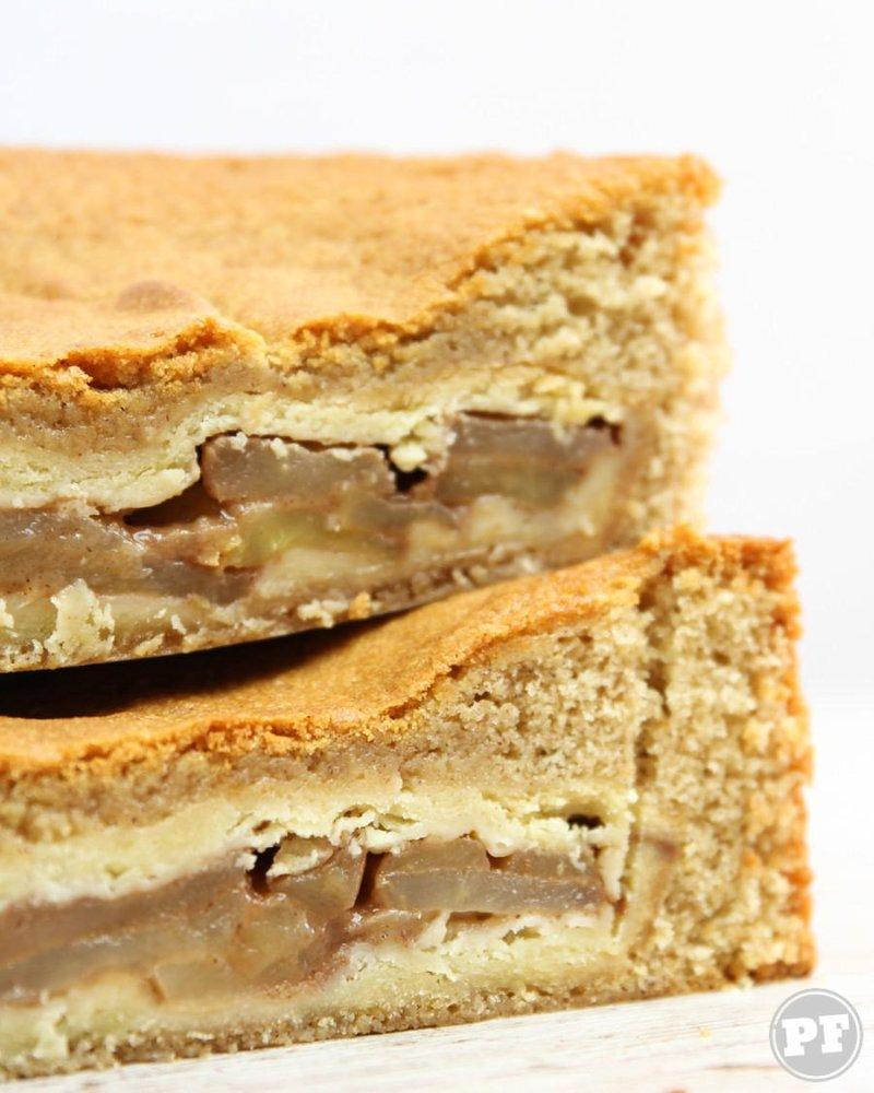 PieCaken: Torta de Maçã Dentro do Bolo de Especiarias