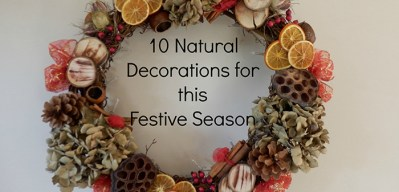 10 Natural decorations for Christmas – {Festivities}