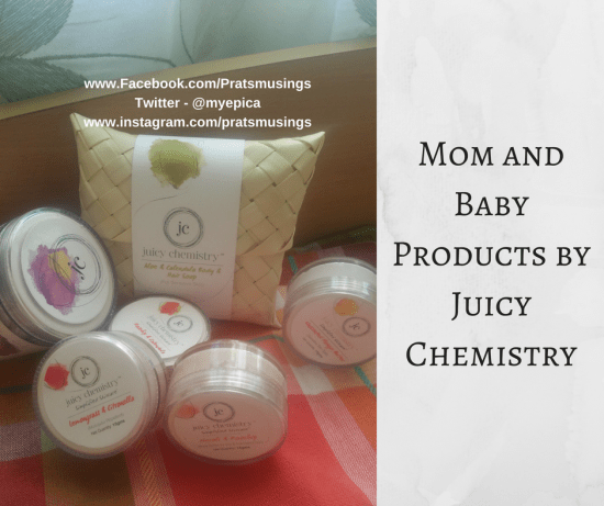 Mom and Baby Products from Juicy Chemistry