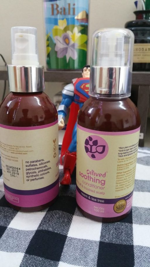 Omved Restorative Shampoo and Soothing Conditioner