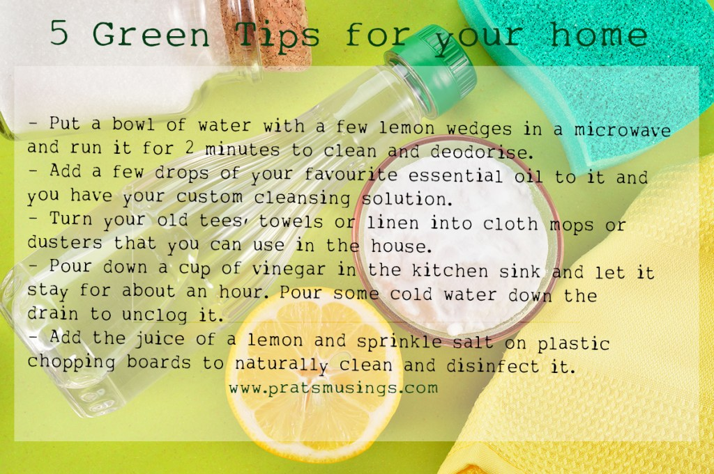 Green Tips for your home