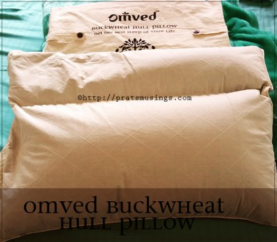 Omved Buckwheat Hull Pillow