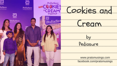 Pediasure Cookies and Cream - Amazing summer food for your kids