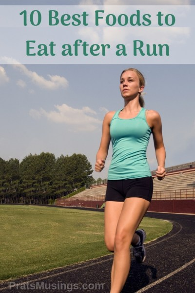 best foods to eat after a run