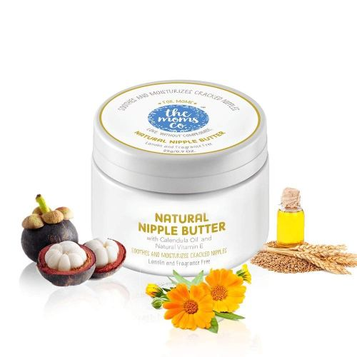 The Moms Co. Natural Nipple Butter Cream for Breastfeeding Moms