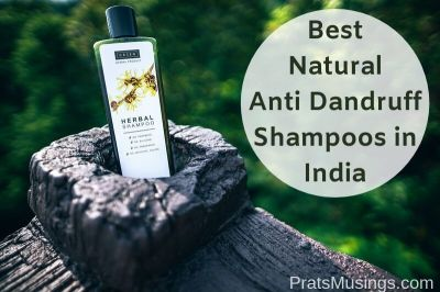 Best natural anti-dandruff shampoos in India