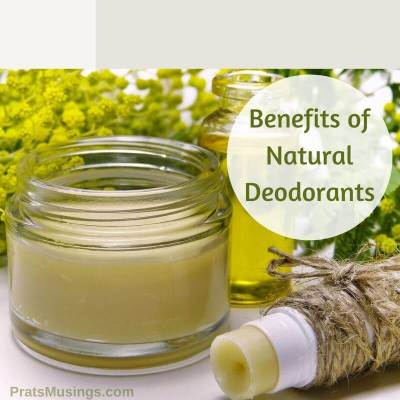 Benefits of natural deodorants