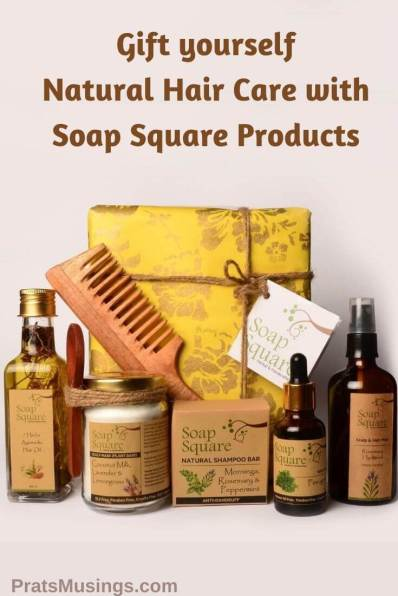 Natural Hair Care with Soap Square