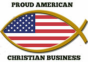 Proud american christian business