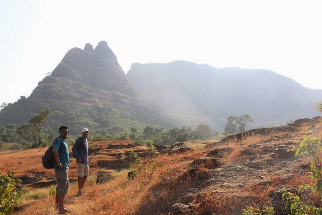View of Prabalgad and Kalavantin durg