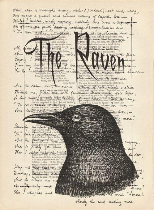 edgar allan poe el cuervo the raven