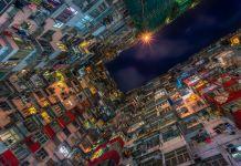 hong kong, edificios, galeria
