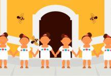 abejas destacada