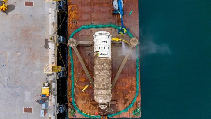 microsoft hunde centro de datos en el mar, microsoft, oceano, servidores en el mar