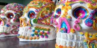 calaveras de azucar, tradicion, uso, significado, ofrenda, noviembre