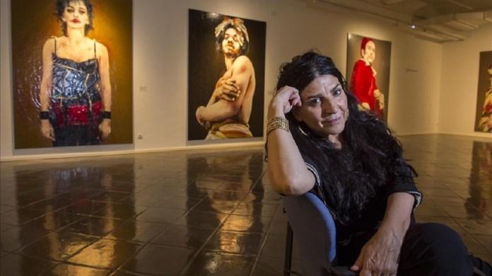 Lita Cabellut, Lita, pintoras españolas, pintura, sociedad hispana, España, Madrid, Rietveld Academie de Amsterdam, Francis Bacon, Francisco de Goya