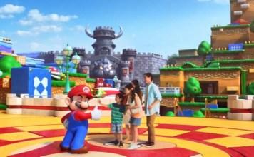 Super Nintendo World, Japon, Mario Bros, parque de atracciones, videojuegos, parque temático Mario Bros, montaña rusa, castillo de Bowser, Mario Kart