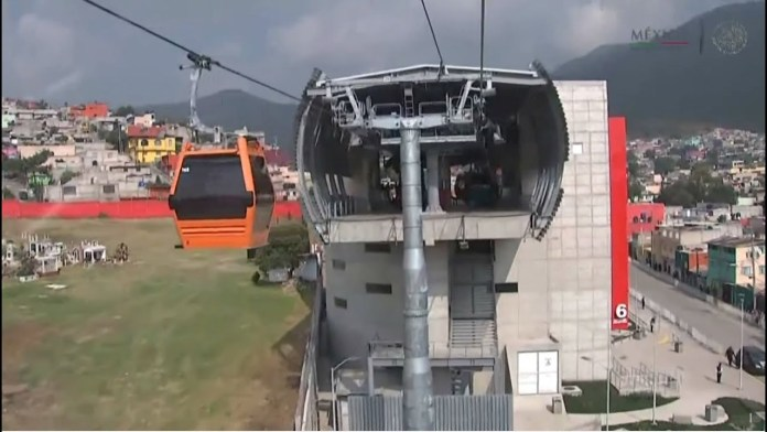 cablebus, ciudad de mexico,, cablebus conectado con los barrios mas pobres de mexico
