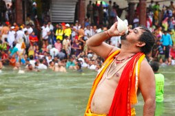 SADHU BLOWING SHELL