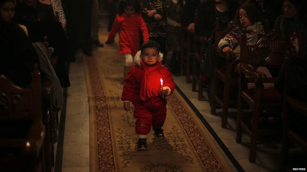 Церковь святого Порфирия, Газа