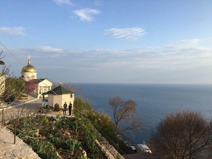 Мыс Фиолент монастырь святого Георгия