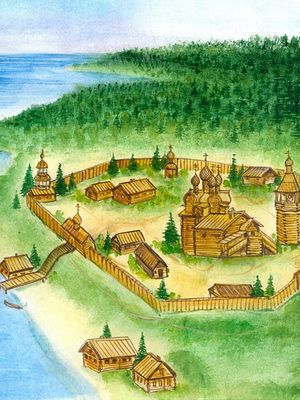 Кожеозерский монастырь