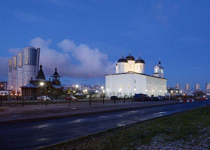The Church of St. Sergius of Radonezh on Khodynka Field