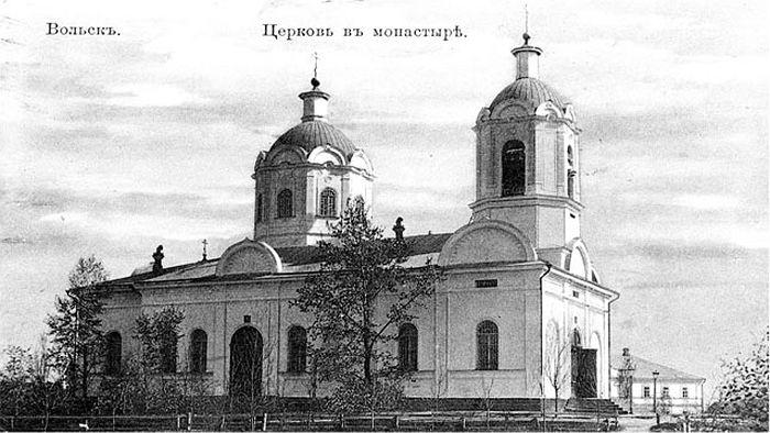 Храм в честь Владимирской иконы Божией Матери в начале XX столетия