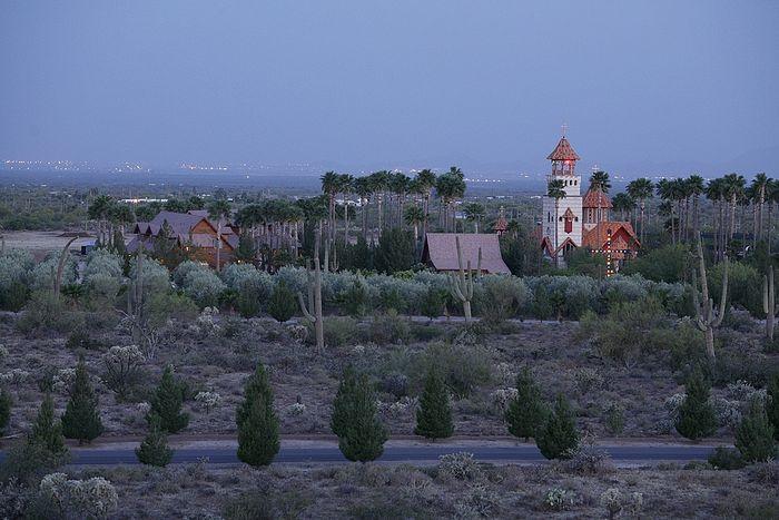 Μοναστήρι Αγίου Αντωνίου του Μεγάλου, στην έρημο της Αριζόνας