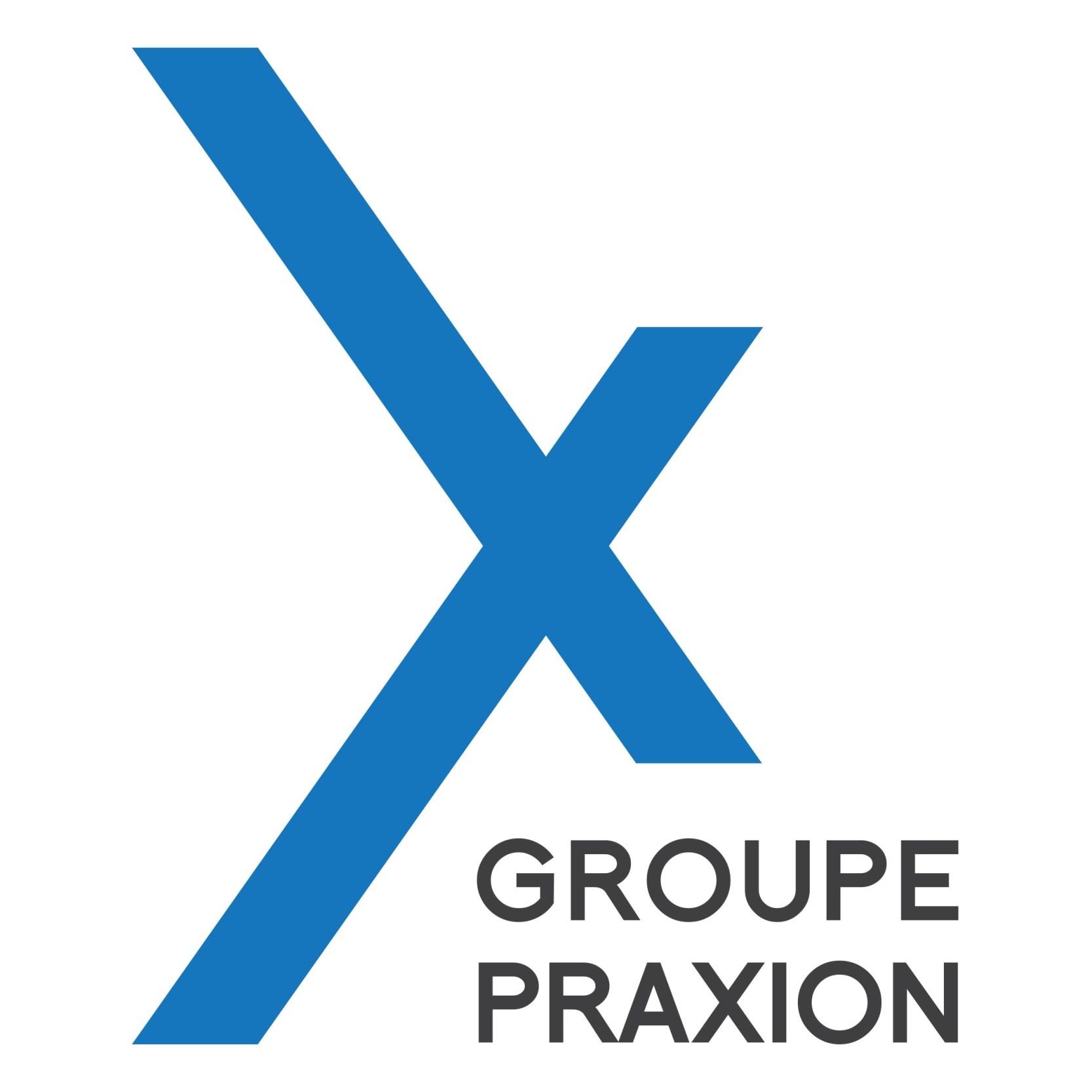 Logo de Praxion rouge