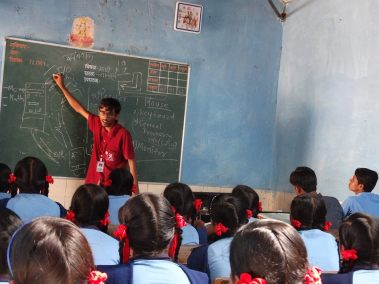 Computer literacy session - Nashik region