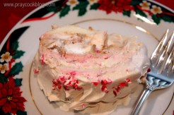 peppermint cake roll single