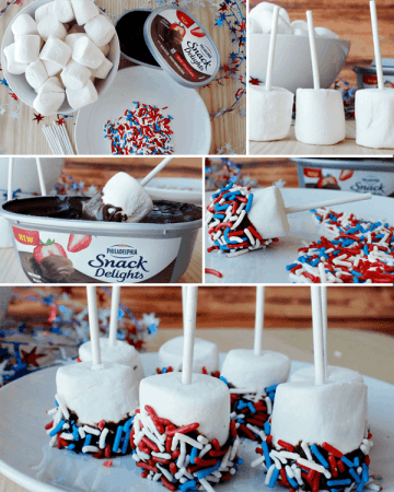 redwhiteblue marshmallows