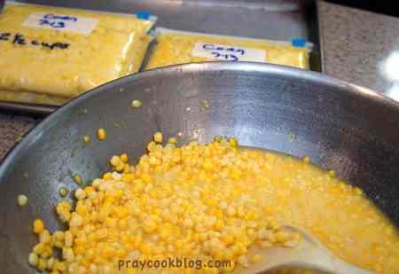 bagging the corn