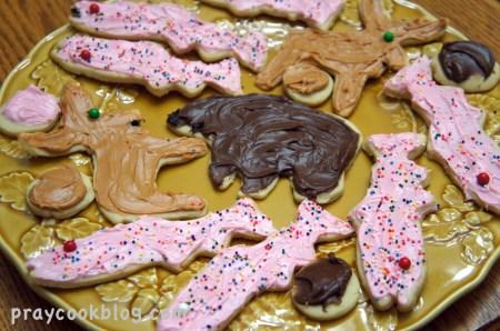 plateful sugar cookies