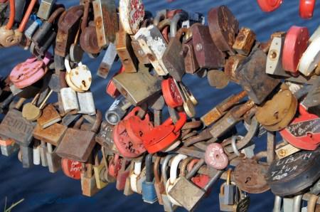 russian heart locks