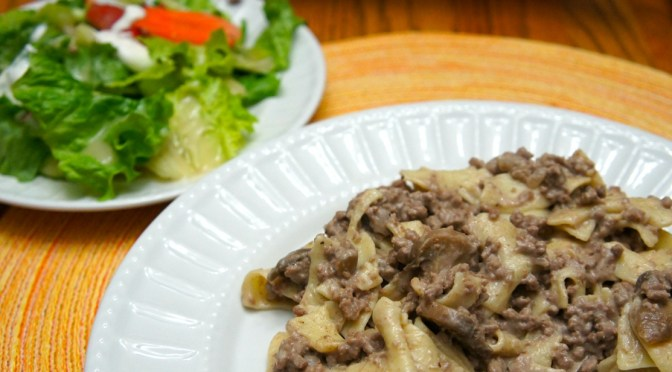 A Family Recipe for Beef Stroganoff