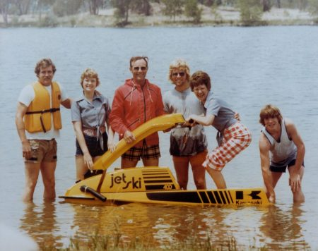 Jetski Family Photo 1976